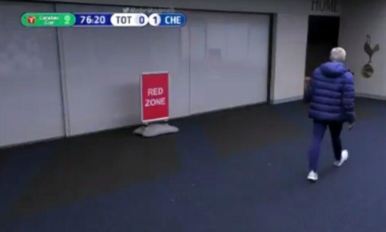 Μουρίνιο-ΕΠΟΣ: Έφυγε από το γήπεδο την ώρα του ματς για να βγάλει τον Ντάιερ από την τουαλέτα (vid)