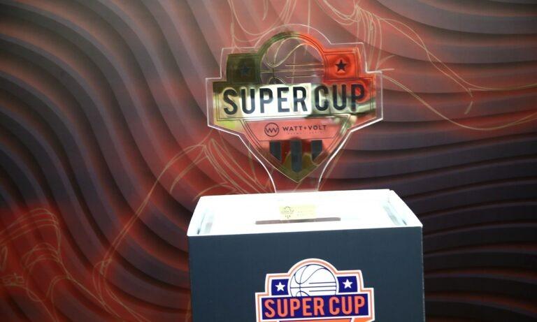 Super Cup: Με μεγάλο χορηγό η διοργάνωση