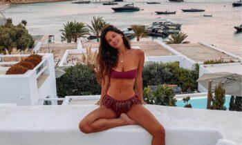 Mykonos Live TV: Η Ελίνα Μπόμπα μας... κολάζει (vid)