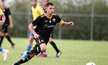 ΑΕΚ: Διπλό της Κ19 στο Αγρίνιο, είδε το ματς ο Καρέρα