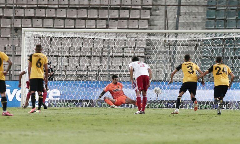 ΑΕΚ – Ολυμπιακός: Χαμένο πέναλτι ο Ελ Αραμπί – Σωτήρας για την Ένωση ο Τσιντώτας (vid)