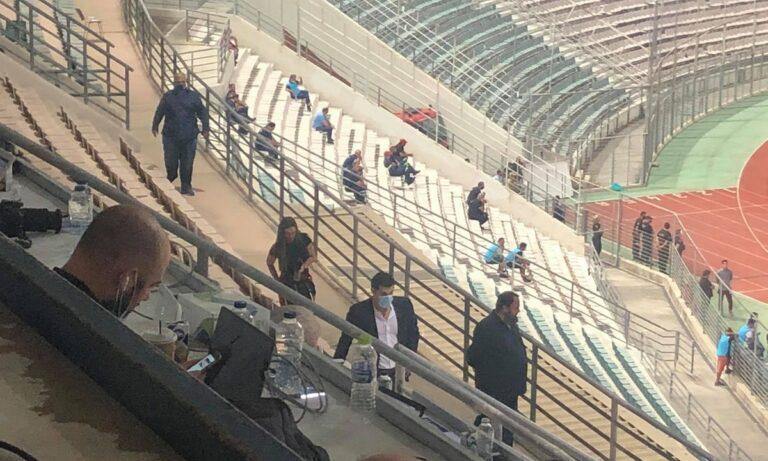 ΑΕΚ – Ολυμπιακός: Πού κάθονται οι επίσημοι (pics)