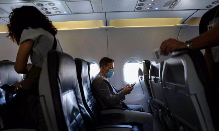 Αναγκαστική προσγείωση στην Κω: Συνελήφθη Άγγλος γιατί δε δεχόταν να φορέσει μάσκα!