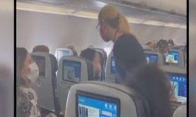 Πέταξαν μητέρα εκτός αεροπλάνου, γιατί ο δύο χρονών γιος της δε φορούσε μάσκα