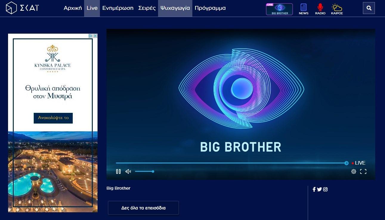 Big Brother live.. ή μήπως dead;