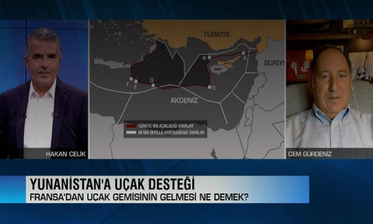 Τουρκία: Γελάμε – Δεν απειλείς έναν γίγαντα με ένα αεροπλανοφόρο