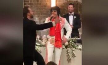 Το είδαμε κι αυτό: Ο.... Έλβις Πρίσλεϊ τραγουδάει Βασίλη Καρρά στην Αυστραλία! (vid)