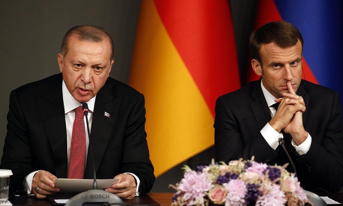 Ερντογάν για Μακρόν: «Μαζέψτε τον για να βρεθεί λύση με την Ελλάδα» (vids)