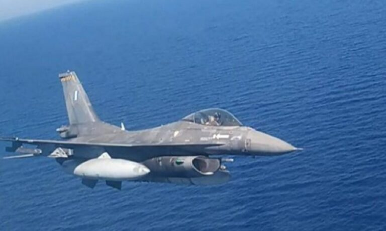 Eλληνικά F 16: Τρίτη φορά πάνω από την Κύπρο σε λίγες μέρες
