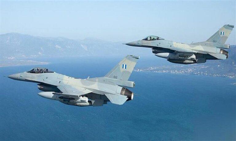 Eλληνικά F 16: Πάγωσαν οι Τούρκοι από την άνετη πτήση στο Καστελόριζο
