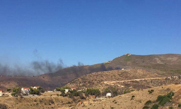 Φωτιά στον Ν. Βουτζά – Σε συναγερμό η Πυροσβεστική (pics)