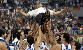 Εθνική Ελλάδας: Σαν σήμερα (25/9) το χρυσό στο Ευρωμπάσκετ 2005 του Βελιγραδίου