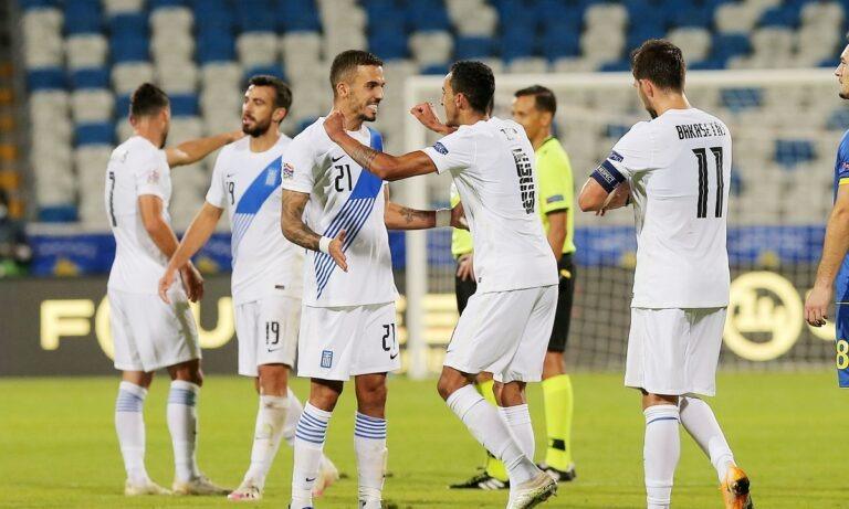 Nations League 2020-21: Η βαθμολογία του ομίλου της Ελλάδας