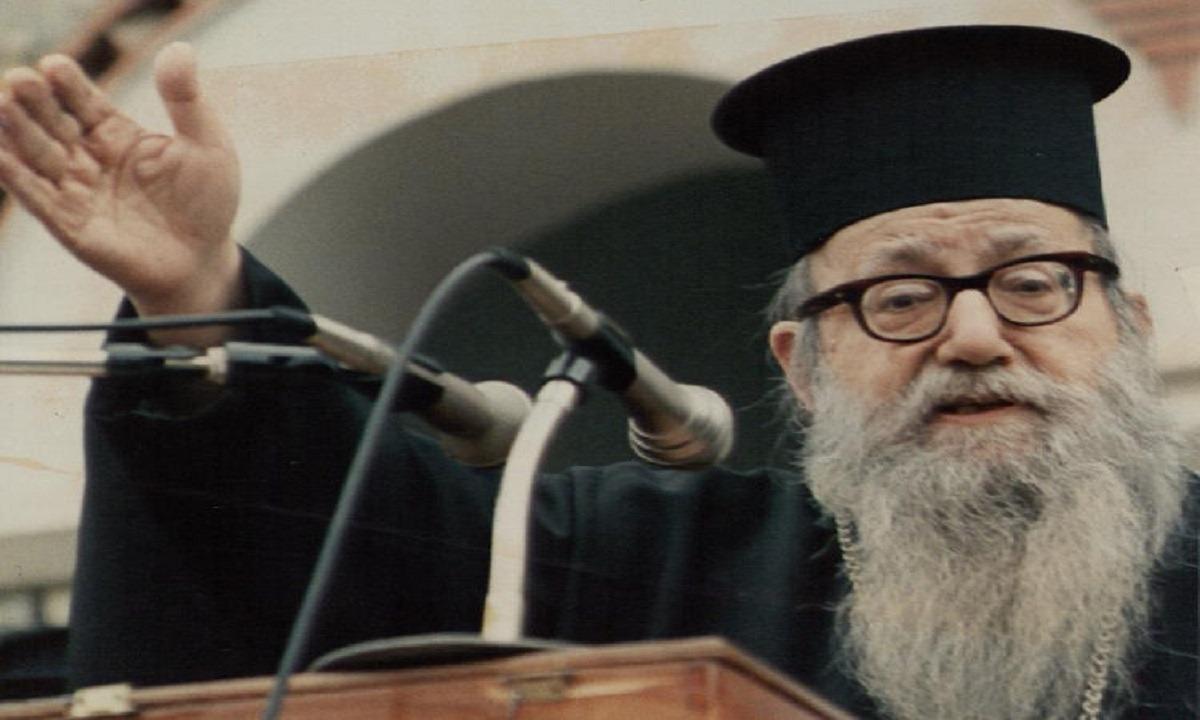 Αυγουστίνος Καντιώτης: Πρέπει οι Χριστιανοί να είναι αγωνιστές με όπλα τις φωνές