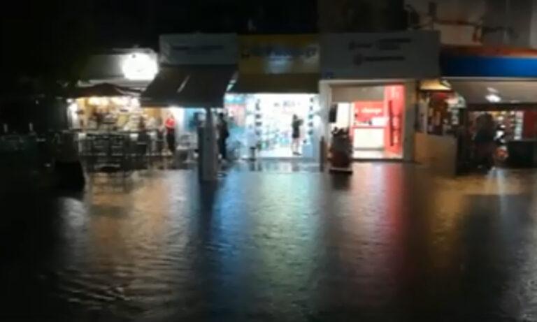 Κακοκαιρία «Ιανός»: Πολλά τα προβλήματα στην Κρήτη, κατέρρευσε μπαλκόνι! (pic+vid)