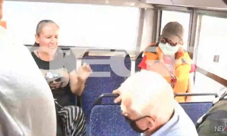 Κορονοϊός – Άγριος καβγάς σε λεωφορείο: Ηλικιωμένος και γυναίκα χωρίς μάσκα ήρθαν στα χέρια!