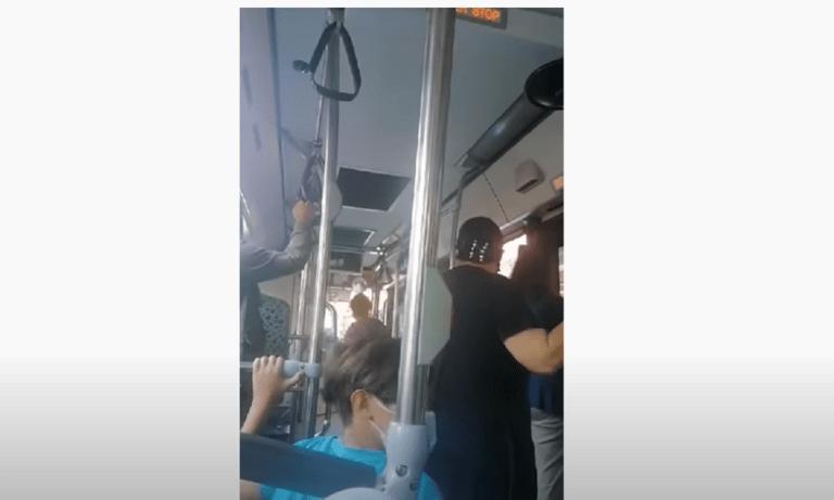 Οδηγός λεωφορείου σε γυναίκα επιβάτη: «Άντε στο δια… χοντρή πατσαβούρα!» (vids)