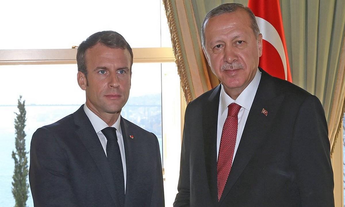 Ελληνοτουρκικά: Ερντογάν σε Μακρόν: «Δεν καταλαβαίνω γιατί στηρίζεις Ελλάδα – Κύπρο» (vid)