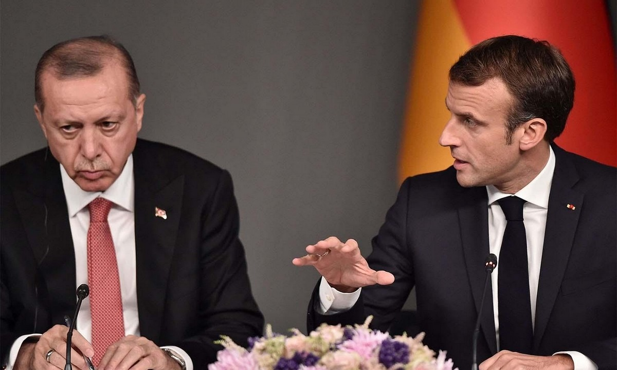 Μακρόν για Ερντογάν: Ζητεί κυρώσεις κατά της Τουρκίας στην επόμενη Σύνοδο Κορυφής της ΕΕ