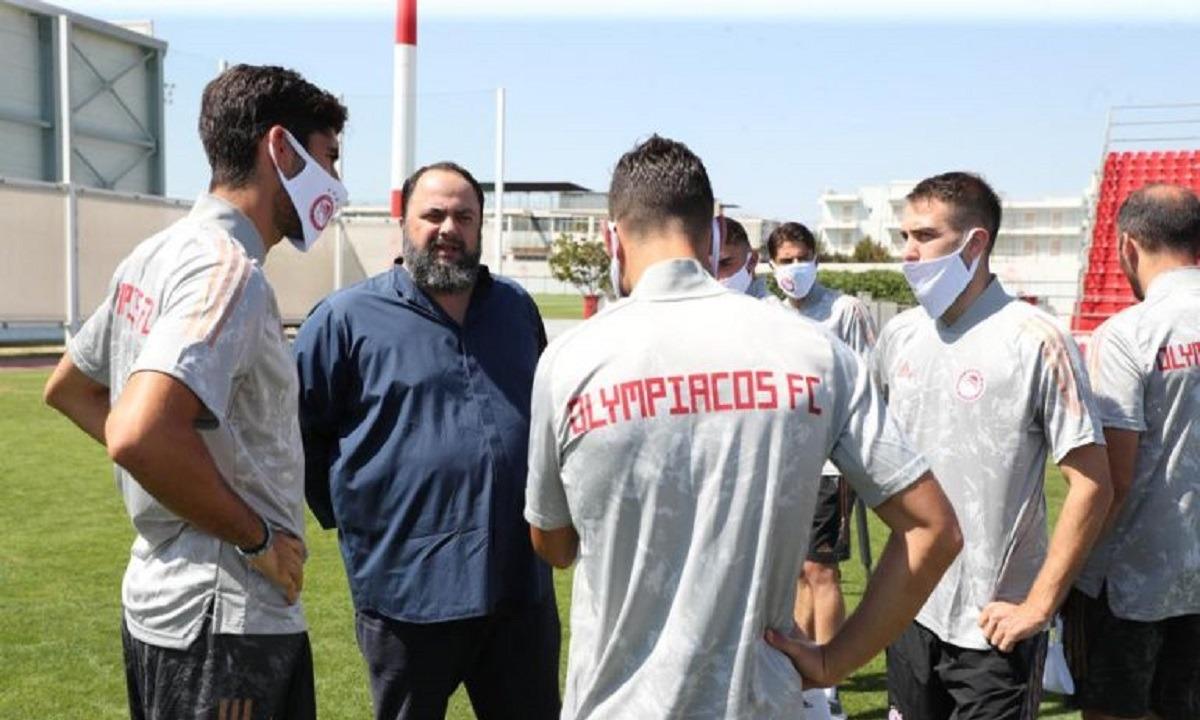 Ολυμπιακός: Στο Ρέντη ο Βαγγέλης Μαρινάκης