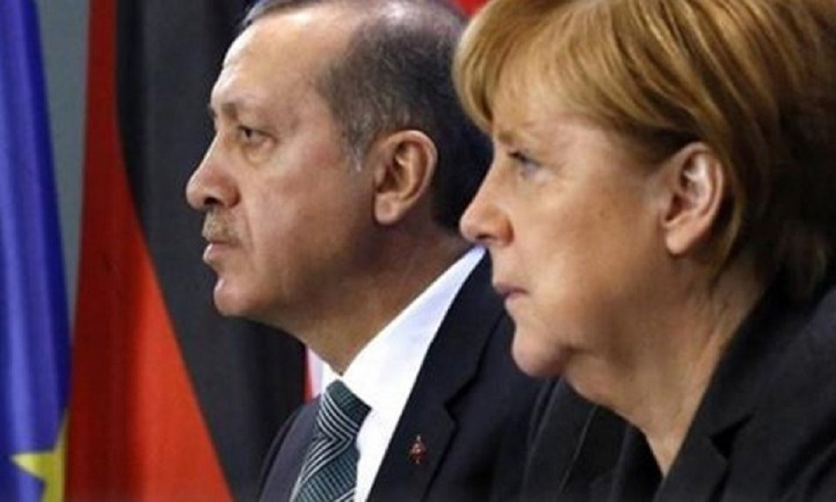 Ερντογάν σε Μέρκελ: Θέλουμε δικαιοσύνη στην Ανατολική Μεσόγειο
