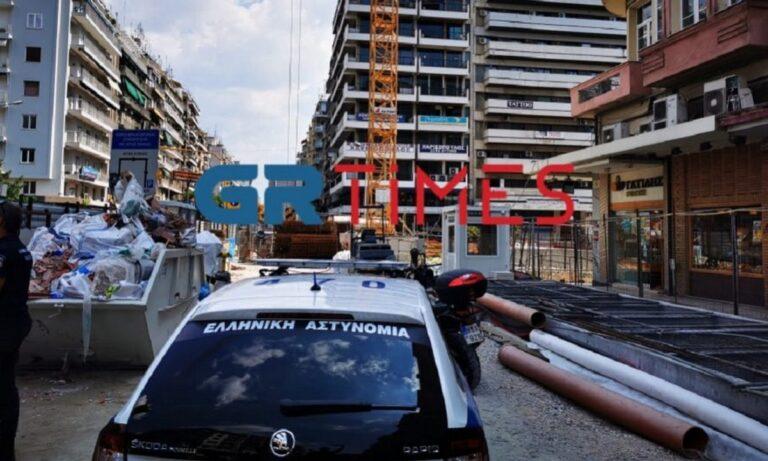 Μετρό Θεσσαλονίκης: Τραγικό δυστύχημα με νεκρό εργάτη στην Αγίας Σοφίας