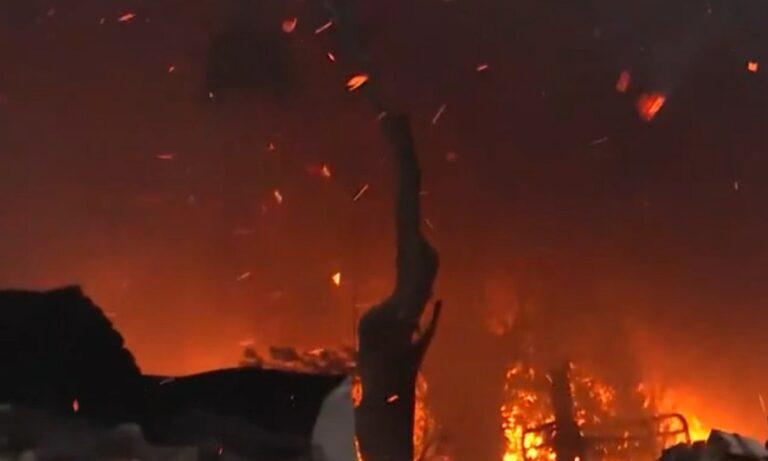 Μόρια – Βίντεο ντοκουμέντο! Αυτοί έβαλαν τη φωτιά