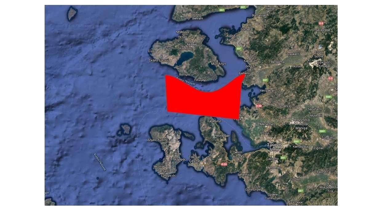 Ελληνοτουρκικά – Νέα NAVTEX: Η Τουρκία «σφήνα» σε Λέσβο-Χίο με υποβρύχια, πλοία επιφανείας και παραβιάσεις
