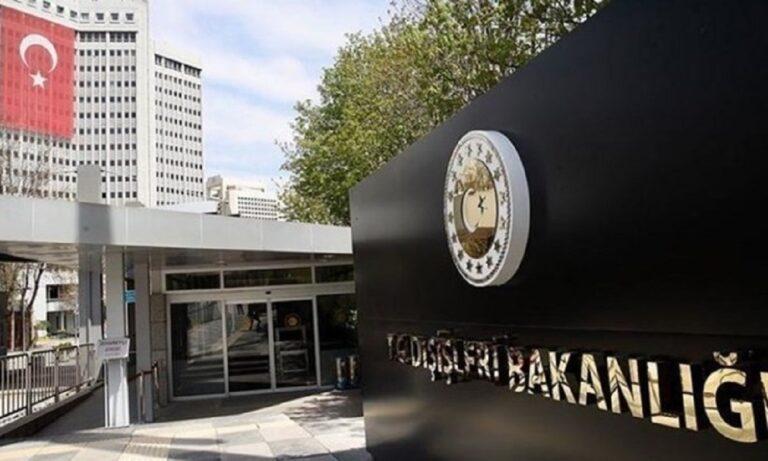 Ελληνοτουρκικά: Στο τουρκικό Υπουργείο Εξωτερικών εσπευσμένα ο Έλληνας Πέσβης