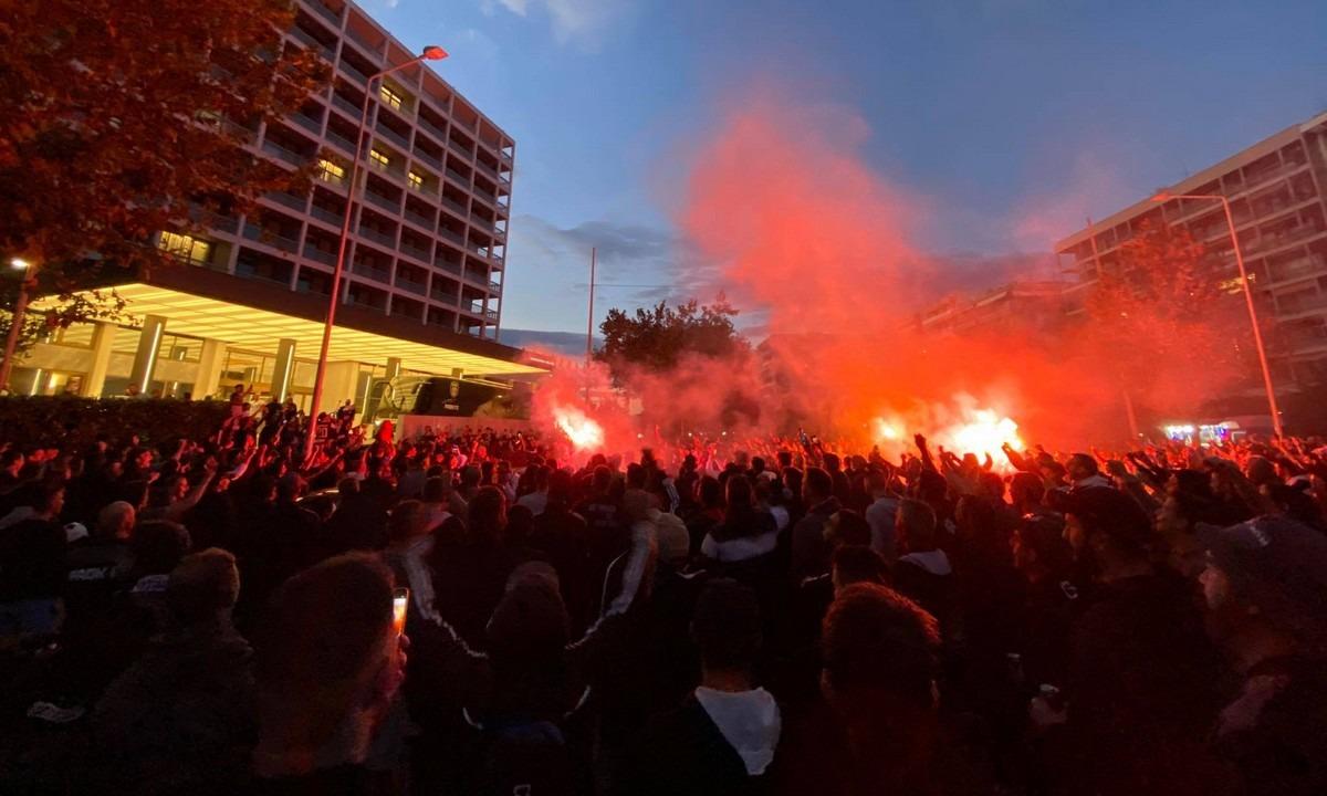 ΠΑΟΚ – Κράσνονταρ: «Παράνοια» από χιλιάδες κόσμο στο Μακεδονία Παλάς! (vids-pics)