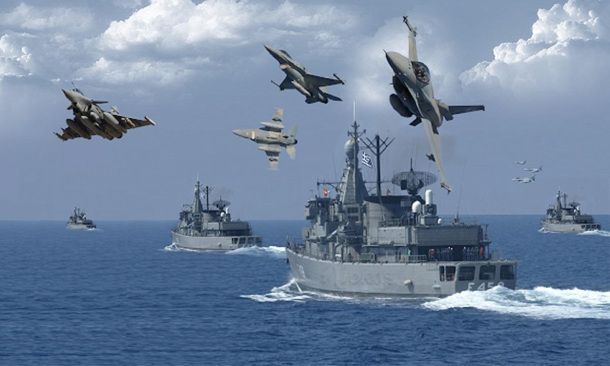 Ελλάδα: Ετοιμάζει τεράστια άσκηση απάντηση στην Τουρκία