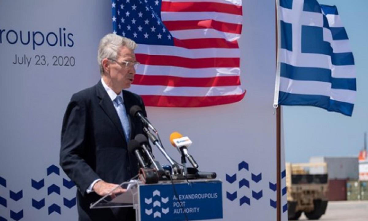 HΠΑ: Διαψεύδει ο Αμερικανός πρέσβης ότι ζητούν αποστρατιωτικοποίηση των νησιών