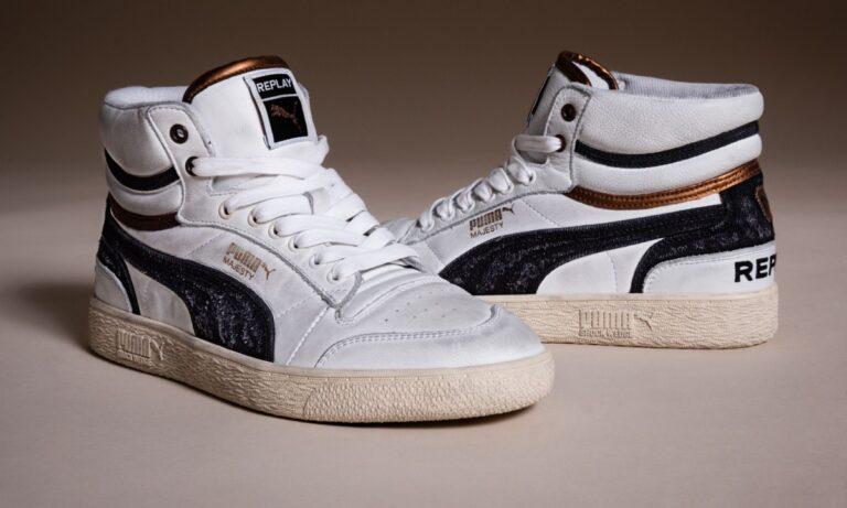 Ξανά στην αγορά τα συλλεκτικά Vintage Sneackers «Ralph Sampson» από την Puma και τη Replay