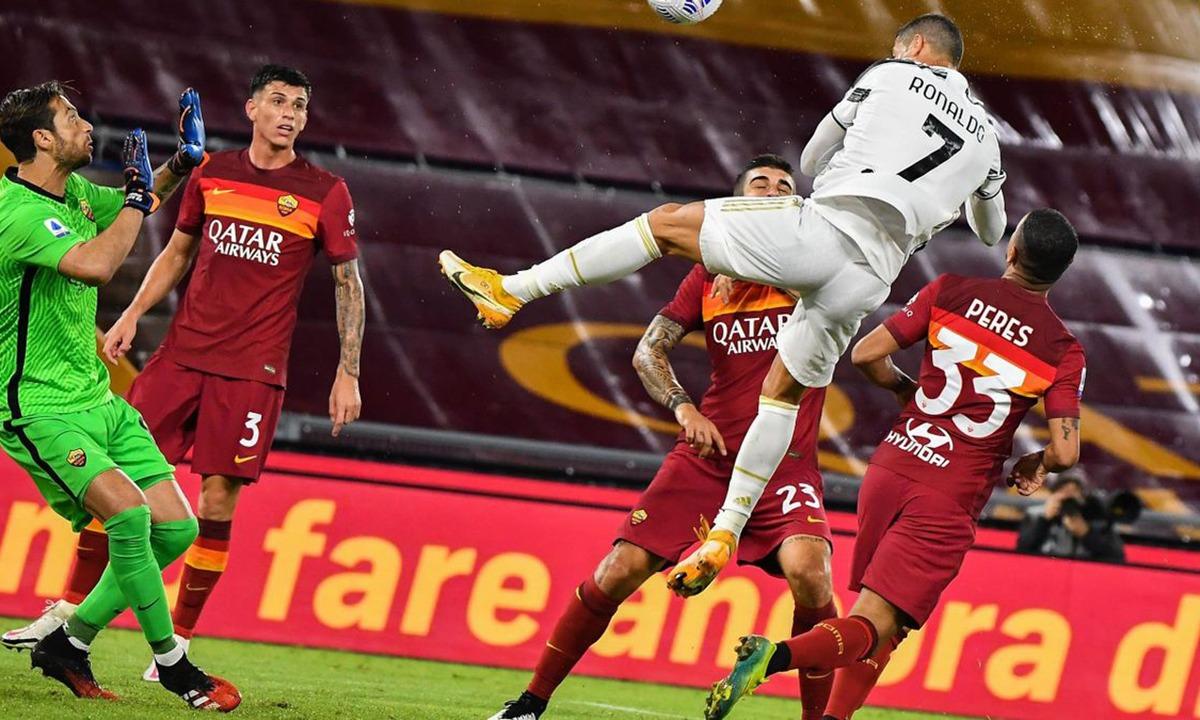 Ρόμα – Γιουβέντους 2-2: Έμεινε με δέκα, αλλά είχε Κριστιάνο! (vid)