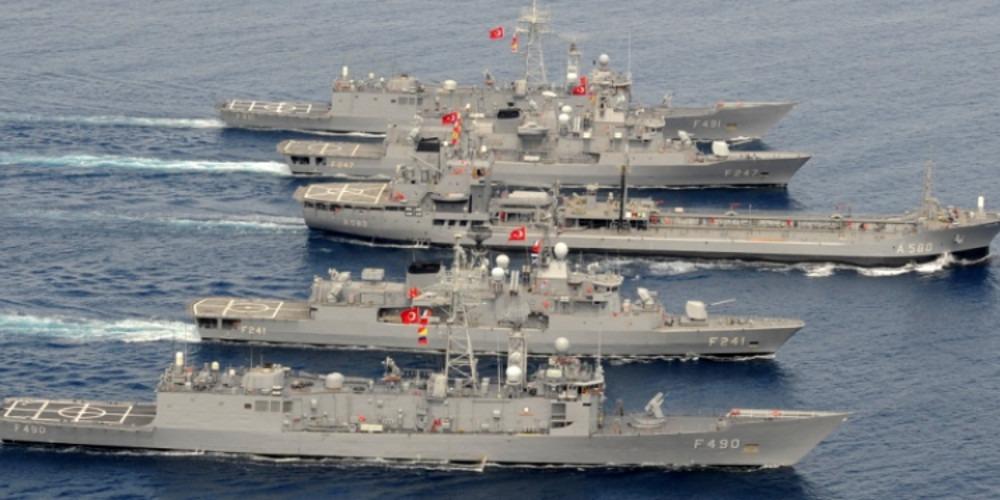 Πολεμικό Ναυτικό: Το απίθανο λάθος των Τούρκων σε Αιγαίο και Ανατολική Μεσόγειο