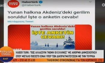Τουρκικός Τύπος: Κλίμα τρομοκρατίας και ρεσιτάλ ψευδών ειδήσεων κατά της Ελλάδας (vid)