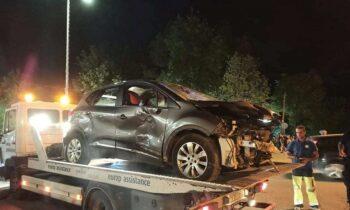 Λάρισα: Σοκαριστικό τροχαίο με όχημα να παρασύρει δύο παιδιά (vid)
