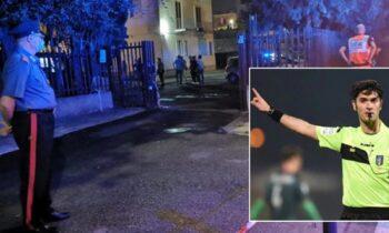 Δολοφονία Ιταλού διαιτητή: Οι μαχαιριές δείχνουν «έγκλημα πάθους»