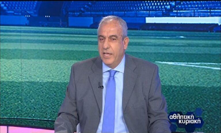 Βαρούχας για το ΑΕΚ – Ολυμπιακός: «Έκανε παρατυπία ο διαιτητής με τον Τζολάκη»