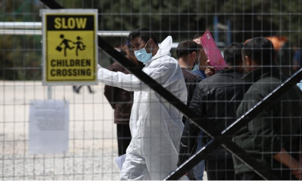Χίος: Στη δομή της Λευκωνιάς οι μετανάστες με Covid-19