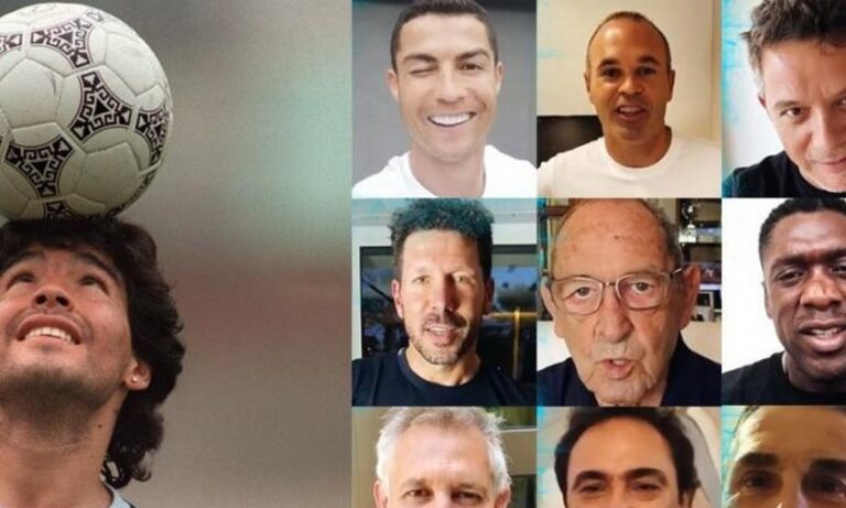 Μαραντόνα: Κριστιάνο, Ζιντάν, Μουρίνιο και άλλοι του εύχονται για τα γενέθλια του (vid)