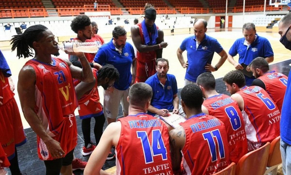 Χαρίλαος Τρικούπης- Basket League 2020-2021