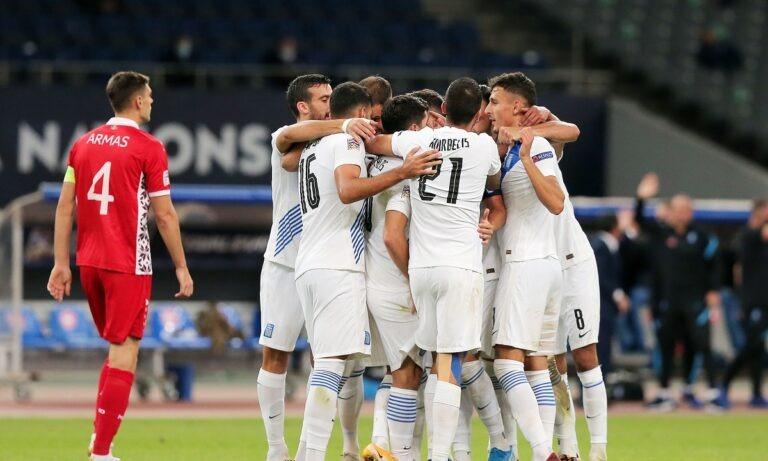 Ελλάδα – Μολδαβία 2-0: Σοβαρή και ουσιώδης με εξαιρετικό Μπακασέτα
