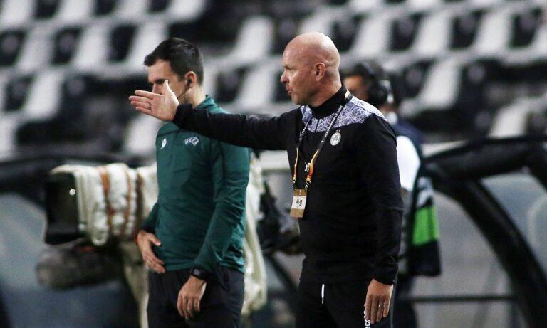 Μπεργκ: «Καλύτερη ομάδα ο ΠΑΟΚ, αλλά μπορούσαμε τη νίκη»