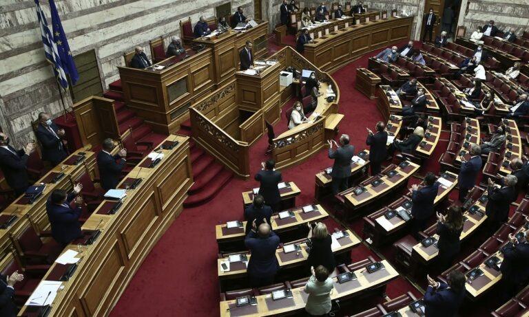 Βουλή πρόταση δυσπιστίας