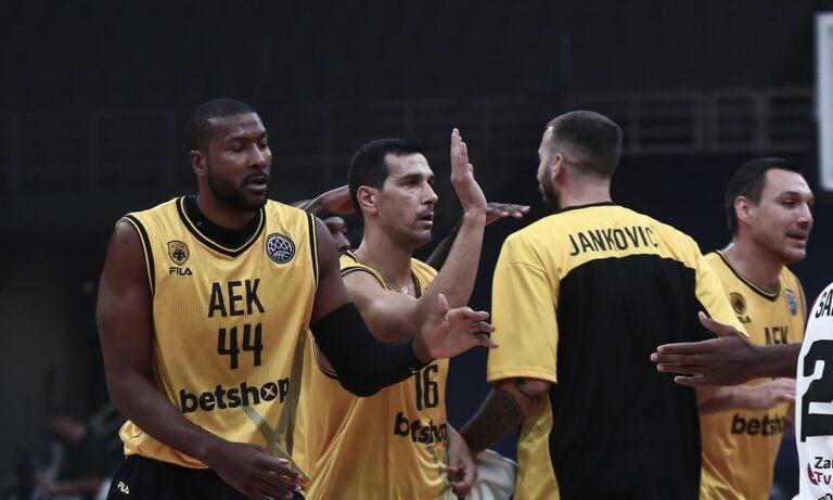 ΑΕΚ: Εντός έδρας πρεμιέρα με την Μινσκ για το BCL