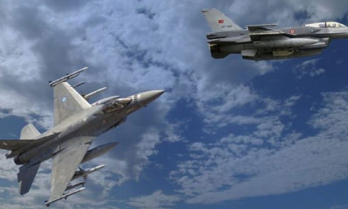 Ελληνοτουρκικά – Παραβιάσεις: Οι Έλληνες πιλότοι… πλάκωσαν τους Τούρκους στις εμπλοκές!