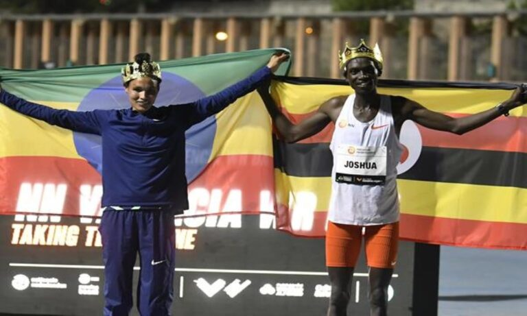 Παγκόσμιο ρεκόρ Τσεπτεγκέι και Γκίντει στην Βαλένθια!