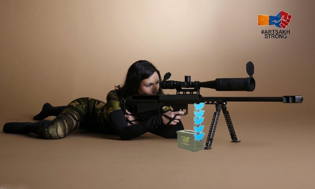 Ναγκόρνο Καραμπάχ: Οι νεαρές Αρμένισες Sniper Girls γέμισαν το διαδίκτυο υπέρ του Αρτσάχ