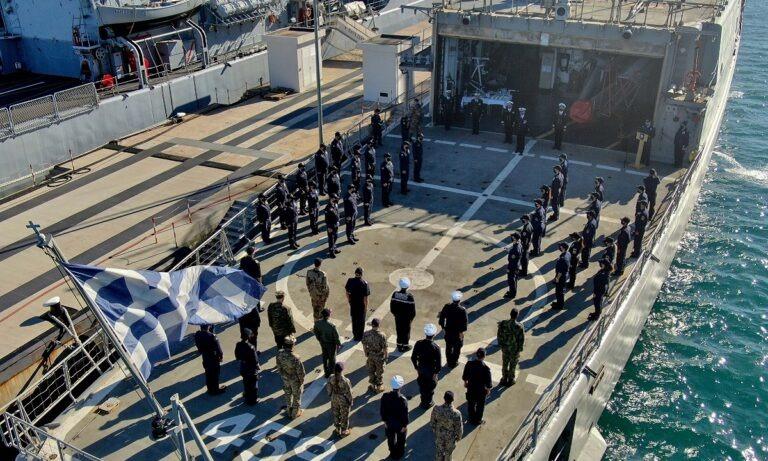 Ελληνοτουρκικά: Φρεγάτα του ΠΝ έριξε... πόρτα στο Oruc Reis! Η επίμαχη φωτογραφία